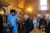 Первая Божественная Литургия в д. Кулагино
