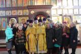 Праздничное Богослужение в день именин Семеновской православной гимназии