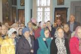Прихожане из п. Сухобезводное приняли участие в Архиерейском Богослужении в с. Светлое