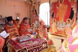 Пасхальное соборное служение в Семеновском благочинии