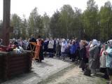 Панихида на городском кладбище г. Семенов