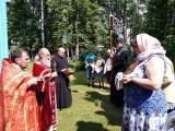 Престольный праздник в храме в честь Владимирской иконы Божией Матери с. Светлое