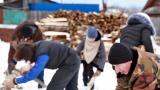 Соревнования – «Топор-колун» и «На дворе дрова»