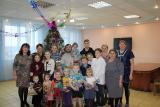 Поздравление с праздниками Рождества Христова и Крещения Господня для детей приюта д. Шалдежка
