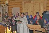 Празднование Крещения Господня в д. Хахалы