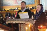 Первое в этом году соборное Богослужение