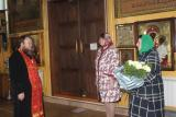 Поздравление настоятеля с юбилеем