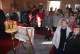 Первая Литургия в деревне Успенье