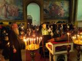 Великий Канон в храме во имя Всех Святых г. Семенов