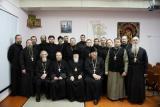 Собрание с клириками Семёновского, Ковернинского и Сокольского благочиний