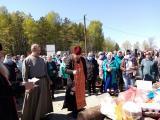 Панихида на городском Дьяковском кладбище