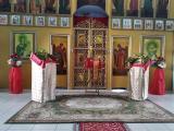 Архиерейское богослужение в п. Ильино-Заборское