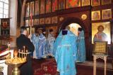 Соборная служба в храме во имя Всех Святых