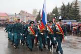 Празднование 72-ой годовщины со Дня Победы в Семенове