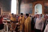 Престольный праздник в центральном храме Семеновского благочиния