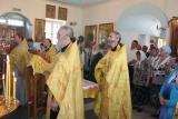 Молебен в храме во имя Всех Святых р.п. Сухобезводное