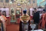 Соборная служба в д. Медведево