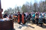 Панихида на главном Дьяковском кладбище Семеновского округа