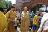 Архиерейское богослужение в день Всех Святых в Семенове