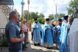 Престольный праздник в селе Ильино-Заборское