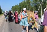 Крестный ход в честь 100-летия мученического подвига Царственных страстотерпцев
