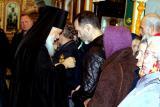 Архиерейское богослужение в д. Медведево